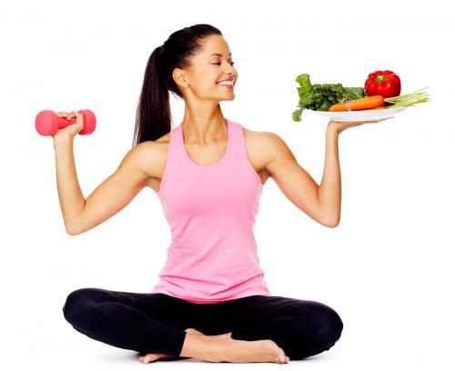 Режим тренировок и питания для похудения. Питание для похудения при тренировках для девушек
