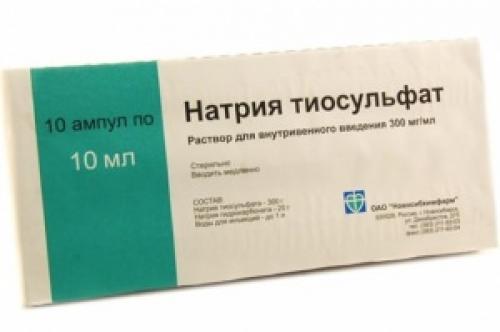 Очищение организма тиосульфатом натрия по кондаковой. О препарате