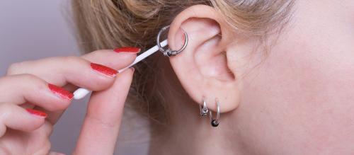 Серьга в хрящ уха, как называется. Сколько заживает ухо и как правильно за ним ухаживать